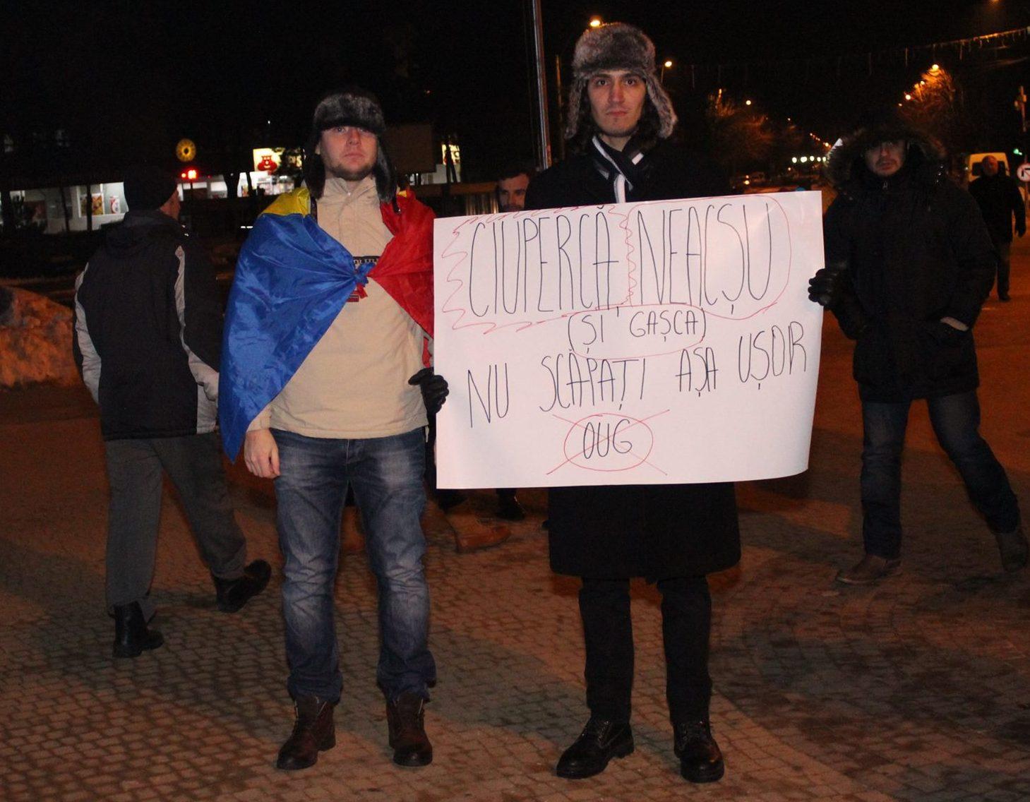 De ce și pentru ce aleg să protestez în Slobozia